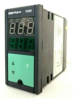 GEFRAN 1000 Configurable Controller Type: 1000-R0-3R-0-1 Code: F000019