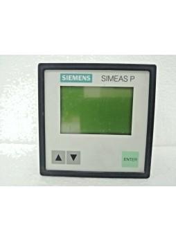 Siemens 7KG7750-0AA01-0AA0/CC Power Meter SIMEAS P50
