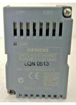Siemens 7KM9300-0AE00-0AA0 Switched Ethernet PROFINET
