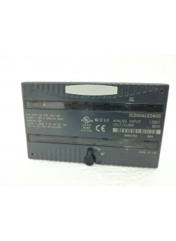 GE Fanuc IC200ALG260D VERSAMAX Analog Input Module