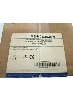 Johnson Controls MS-NCE2526-0 Network Control Engine